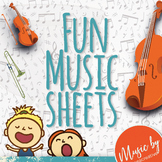 Music Fun Resources: Grade One Italian Terms and Orchestra