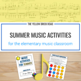 Music Activities for the Summer