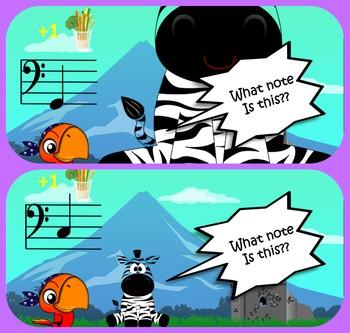 Music Fundamentals - Bass Clef Notation - Elementary Studies Level 2