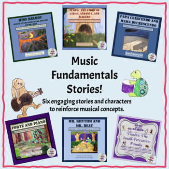 Music Fundamentals Story Book Bundle