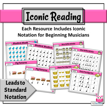 Music Reading - RHYTHM ACTIVITY BUNDLE: Quarter Note, Quarter Rest, Eighth Notes