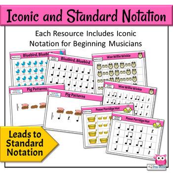 Kodály Music Reading | RHYTHM READING ACTIVITY BUNDLE
