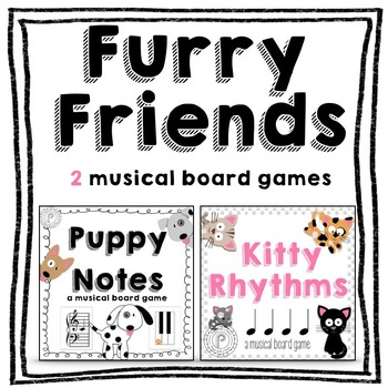 Music Game Bundle: Kitty Rhythms and Puppy Notes