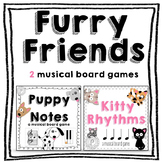 Music Game Bundle: Kitty Rhythms and Puppy Notes #springsongs