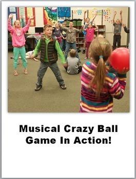 Music Game Crazy Ball