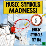 March Music Madness Game:  Music Symbols Madness!