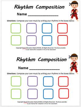 Music Game {Karate Rhythm Game}