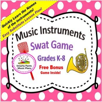 Music Game {Music Instrument - Swat Game}