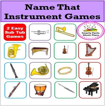 Music Game {Name That Instrument}