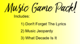 Music Game Pack!