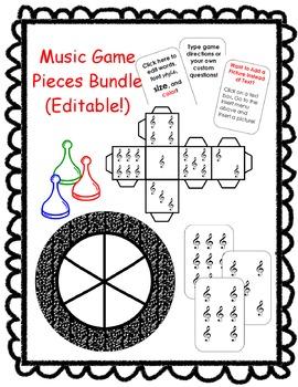 Music Game Pieces Bundle