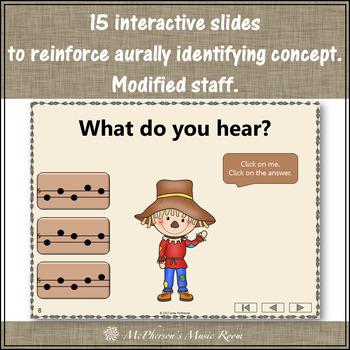 Music Game: Sol Mi La Interactive Melody Game {Dancing Scarecrow}