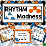Music Game for March:  Basketball Rhythm Music Madness!