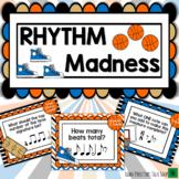 March Music Madness - Basketball Rhythm Music Game
