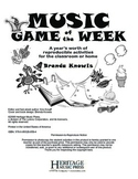 Music Game of the Week: November - December