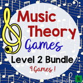 Music Games Bundle- Level 2 Music Theory Games