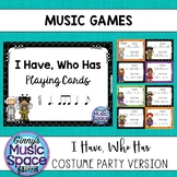Music Games - I Have Who Has {Six Eight 2}