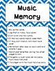 Music Games!  Music Memory and Go Play an Instrument