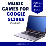 Google Slides™ Music Games for Distance Learning {Bundled Set}