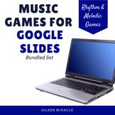 Google Slides™ Music Games for Distance Learning {Bundled Set}