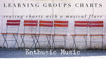 Music Learning Groups -Music Genres Group 1 (Seating Chart)