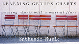 Learning Groups ( Musical ) Editable Seating Chart