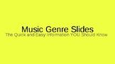 Music Genre Slides