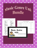 Music Genre Unit Bundle