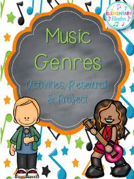 Music Genres: Activities, Research & Project