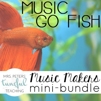 Music Go Fish - Music Makers Mini-Bundle