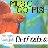 Music Go Fish - Orchestra Instruments