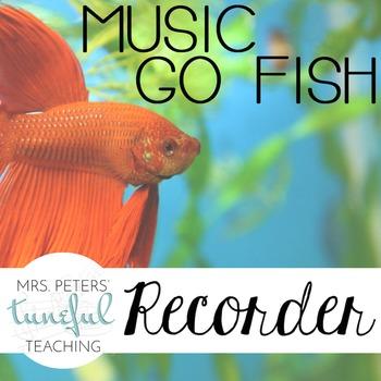 Music Go Fish - Recorder Fingerings