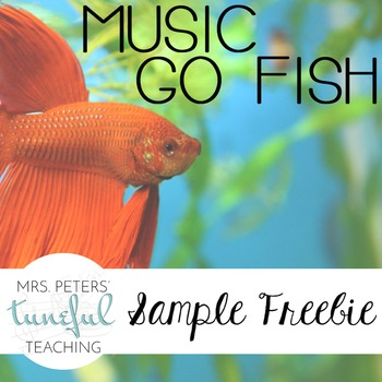 Music Go Fish Sample - FREEBIE!