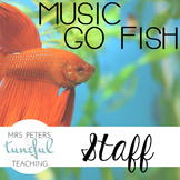 Music Go Fish - Staff