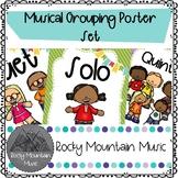 Music Groupings Poster Set