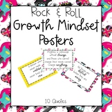 Music Growth Mindset Posters