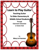Music Instruments: Teach Guitar to Children