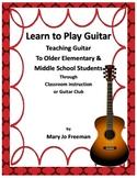 Music Instruments: Teach Guitar to Children
