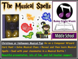 CHRISTMAS MUSIC PROJECT: The Musical Spells (Harry Potter-Inspired)