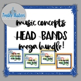 Music Headbands Games {MEGA BUNDLE}
