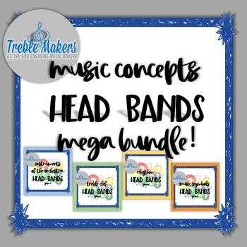 Music Headbands Games {MEGA BUNDLE}