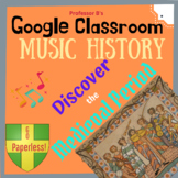 Music History: Discover the Medieval Period DISTANT LEARNING