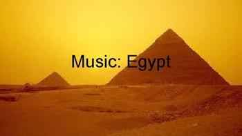 Music History: Egypt