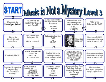 Music History Game Level 3