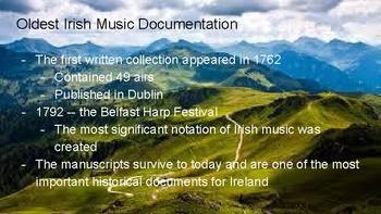 Music History: Ireland