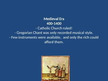 Music History Powerpoint