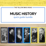 Music History Quick Guide Bundle