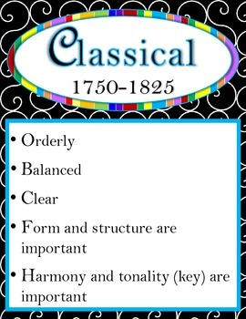 Music History Time Periods