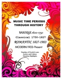 Music History: Timeline, Composers, and World Events