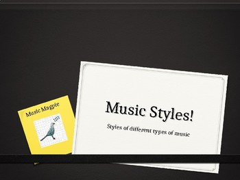 Music History and style
